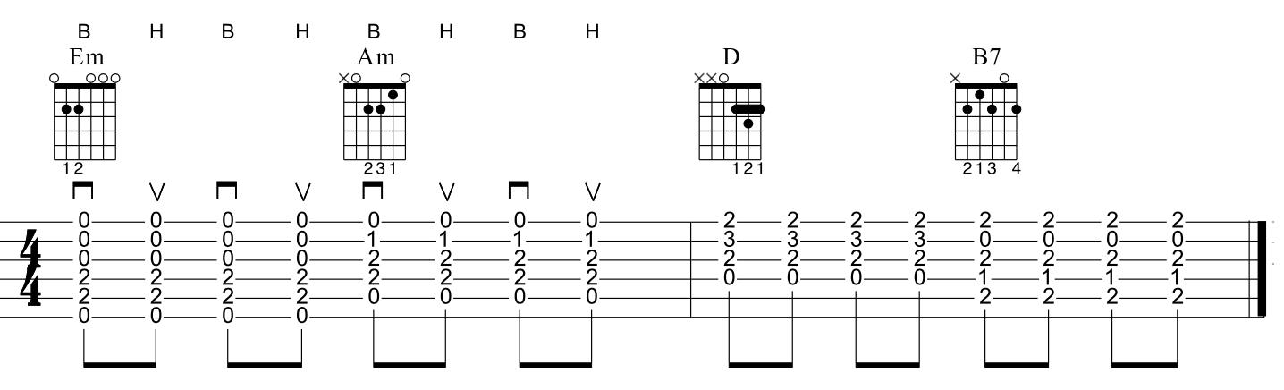 Guitare rythmique 1